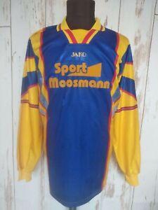 Vintage Sport Sweatshirt Jako 80s Long Sleeve Shirt Jersey Football Soccer Sz XL
