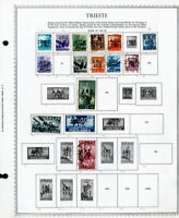 Trieste Zone A 1940s to 1950s Mint & Used Stamp Collection
