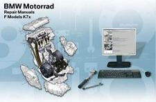 2008-2012 BMW F800GS / F800R RepROM Service Manual DVD - Multilingual