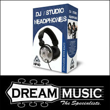AMS HP40 DJ Studio Headphones w/ Super Bass Response, Deluxe Padded Headband $35