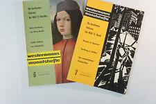 Konvulut Westermann mes cuadernos 2 cuadernos año 1959 revista Arte vintage b6100