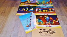 LES SIMPSON  !  jeu  photos cinema lobby cards bd  homer , marge !