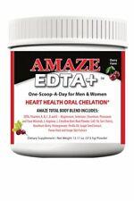 Cardio Heart Health EDTA Cherry Flavor, L-ARGININE 5000MG L-CITRULLINE 1000MG