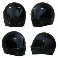 For Bandit Street Racing Matte Black Motorcycle ATV Adult Helmet Full Face DOT