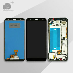 For LG K40 2019 K12 Plus LMX420EM/QN/MN/QM/AS LCD Touch Screen Digitizer Frame