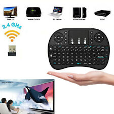 i8 2.4Ghz Mini Wireless Keyboard Remote Controls Touchpad for Android TV PC US