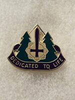 Authentic US Army 47th Combat Support Hospital DI DUI Unit Crest Insignia 22M