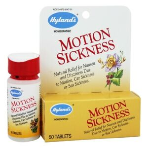 Hylands Motion Sickness, 50 Tablets