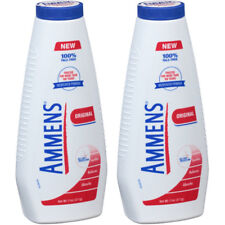 2 Pack Ammens Original Medicated Powder, Talc Free Formula, 11 Ounces Each