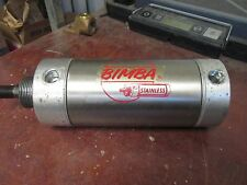 Bimba Stainless Pneumatic Cylinder 703 5-DQ Used