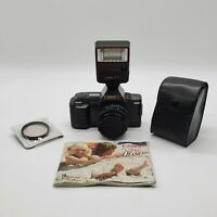 Canon T70 35mm Camera with 50mm Lens, Canon 277T Flash and Rolev Skylight Filter