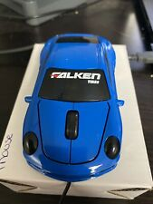 New Falken Tire Car Shaped Computer Mouse Blue Car Mouse With Lights