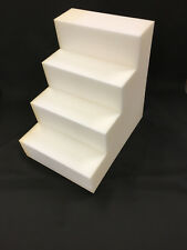 NEW XL Extra Large Foam Dog Cat Pet Steps Stairs (GE11) MADE IN USA