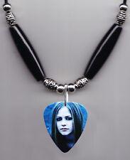 Avril Lavigne Signature Photo Guitar Pick Necklace #2
