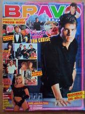 BRAVO 5- 26.1. 1989 (2) A.Agassi A-HA Madonna & Sean Penn EUROPE Sam Fox CAMPINO