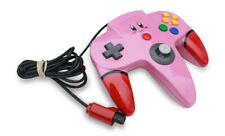 Custom Painted Pink Kirby Authentic Brand Nintendo 64 Controller