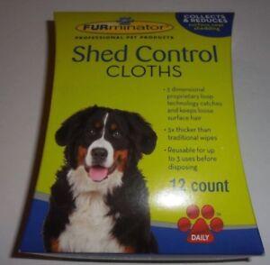 FURMINATOR SHED CONTROLL CLOTHES - 12 COUNT PKS