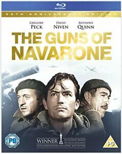 The Guns of Navarone [Blu-ray] [1961] [Region Free] [DVD][Region 2]