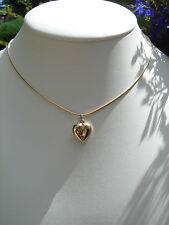 Kette in 585 Gold Filled, mit Herz, sehr romantisch!