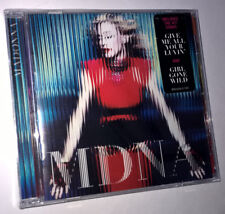 MADONNA mdna 2012 NEW SEALED CD hype sticker on cover B0016725-02 Electro