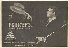 Y3000 PRINCEPS il principe dei cappelli - Pubblicità del 1923 - Old advertising