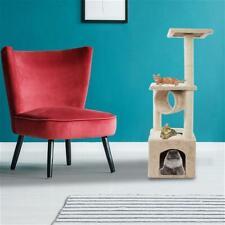 "New listing 2021 Usa new Cat Tower Beige 36"" Solid Cute Sisal Rope Plush Cat Climb Tree"