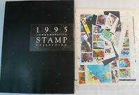 Sealed 1995 Commemorative Stamp Collection Yearbook USPS Mint Set with Stamps