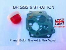 Primer Bulb + Carburettor Diaphragm Gasket Set BRIGGS & STRATTON SPRINT  U.K.✅