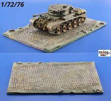 Redog 1/72 Diorama Display Base for Military Scale Model Tanks & Vehicles D1