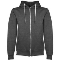 Mens American Hooded Fleece Hoodie With Zip Sizes S, M, L, XL, 2XL & 3XL