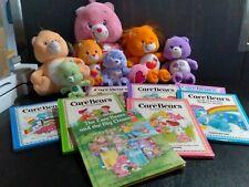 care bear book lot with bears