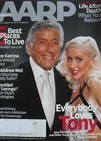 CHRISTINA AGUILERA  TONY BENNETT September 2007 AARP Magazine