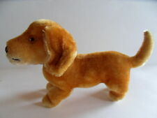 Steiff  dog dachsund  dackel mohair  with button stuffed animal made iGermany 64