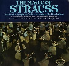 SHM 793 LIONEL ATKINS the magic of strauss uk hallmark LP PS EX/EX