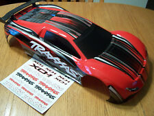 NEW Traxxas XO-1 Super Car Red & Black Factory Painted Body w/ Wing & Decals X01
