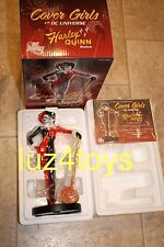 DC DIRECT COVER GIRLS OF THE DC UNIVERSE HARLEY QUINN STATUE  Adam Hughes