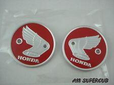 HONDA BENLY 125 150 CB92 CS92 C92 CA92 C95 CA95 CA160 RED Tank Emblems L/R