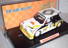 Team Slot 70501 Renault 5 Maxi Turbo #3 Rally Catalogne Carlos Sainz Résine