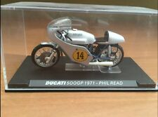 DUCATI 500gp 1971 Phil Read 1:24 DIE-CAST Ixo Altaya