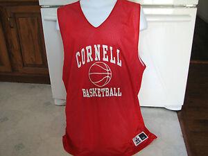 Cornell University men's basketball team mesh jersey reversible 2xl NCAA College