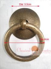 4pcs Chinese Furniture Hardware Brass Drawer Handle Cabinet Pull Knob