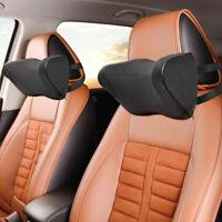 2x Universal Autositz Kopfstütze Nackenkissen Reisen Nackenstütze Kissen komfort