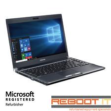 """Toshiba Portege R930 Core i5 3320M 2.6GHz 4GB 500GB Win 10 13.3"""" Laptop"""