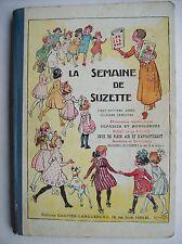 semaine de Suzette Bécassine reliure album 1931