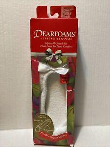 House Slippers Dearfoam Size 6.57.5