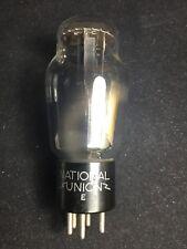 National Union #47 Coke Bottle Radio Amplifier Vacuum Tube Tested Strong #I.6469
