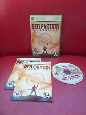 Red Faction: Guerrilla (Microsoft Xbox 360, 2009)