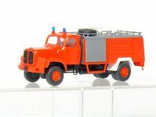 RMM Roskopf 435 Saurer D 330 N Feuerwehr Rosenbauer   H0 / 1:87 wie neu OVP