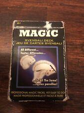 Fantasma Magic Svengali Deck Professional Magician's Deck Nip 2003