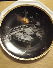 New listing Hamilton Collection Star Wars Space Vehicles Plate - Millenium Falcon